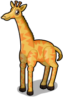 African giraffe single