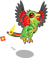 Dia de los muertos parrot an