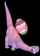 Easter eggosaurus an