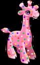 Frosted giraffe single