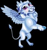 Winter ice lion an