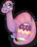 Easter eggosaurus single
