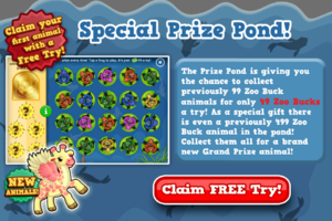 Giraffe angel prize pond free try modal