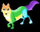 Neon wolf single
