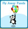 Fly away panda card