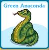 Green anaconda card