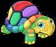 Rainbow turtle single