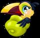 Toucan baby mile1 single