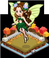 Autumn earth fairy single