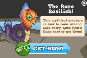 Basilisk modal