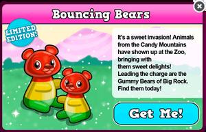 Gummy bear modal