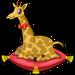 Petite giraffe single