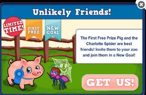 Prize pig modal