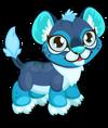 Cubby lion aqua single