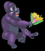 Lowland gorilla an