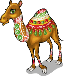 Silk road camel static