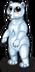 Arctic polar bear single