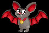 Vampire bat spooky single
