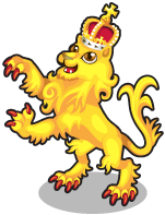 English lion single
