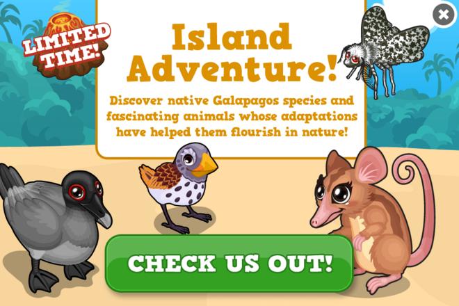 Galapagos modal