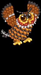Jelly bean owl an