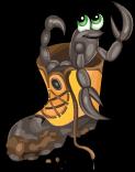 Boot scorpion static