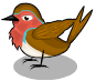 English robin an