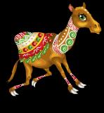Silk road camel an
