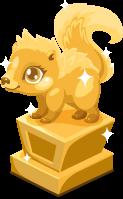 Skunk baby trophy