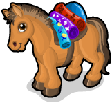 Steppe pony single