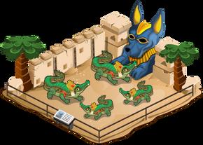 Crocodile of sobek family
