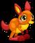 Cubby Kangaroo Red single