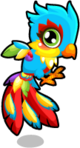 Cubby phoenix rainbow single