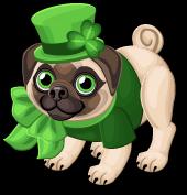 Irish pug single