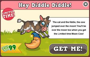 Moon cow modal
