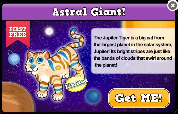 Jupiter tiger modal
