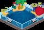 Plushy water habitat