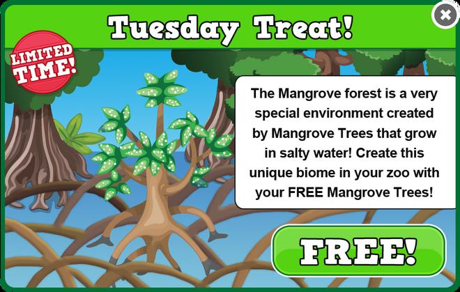 Mangrove tuesday treat modal