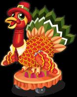 Thanksgiving turkey single