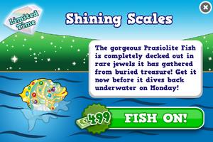 Prasiolite fish modal