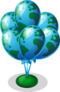Earth day balloons