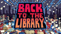 Back to the Library Title Card