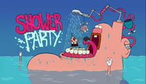 Shower Party Title Card