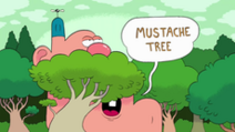 Mustache Tree Title Card
