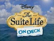 Suite Life on Deck Logo