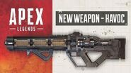 Apex Legends New Weapon – The Havoc Energy Rifle