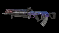 Flatline Blue Fade Warpaint