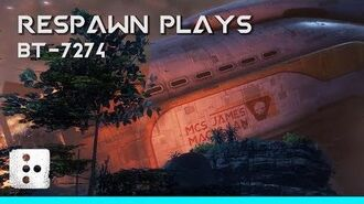 Respawn Plays BT-7274 Titanfall 2