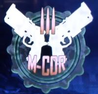 M-COR logo