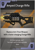 Amped Charge Rifle